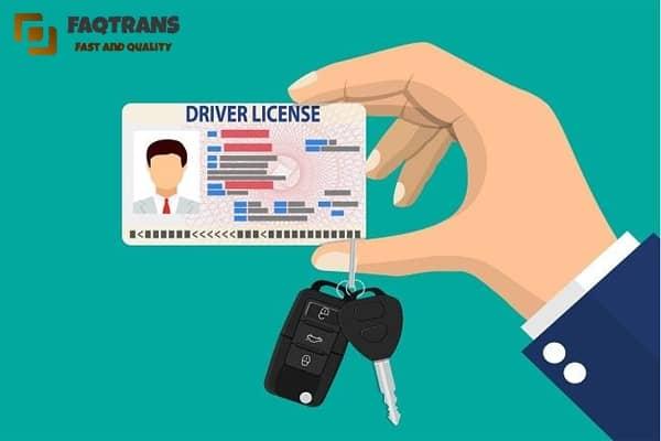 đơn vị dịch thuật công chứng bằng lái xe uy tín tại Hà Nội