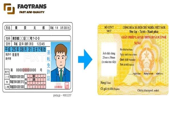 giao nhận tài liệu dịch thuật giấy phép lái xe khắp cả nước